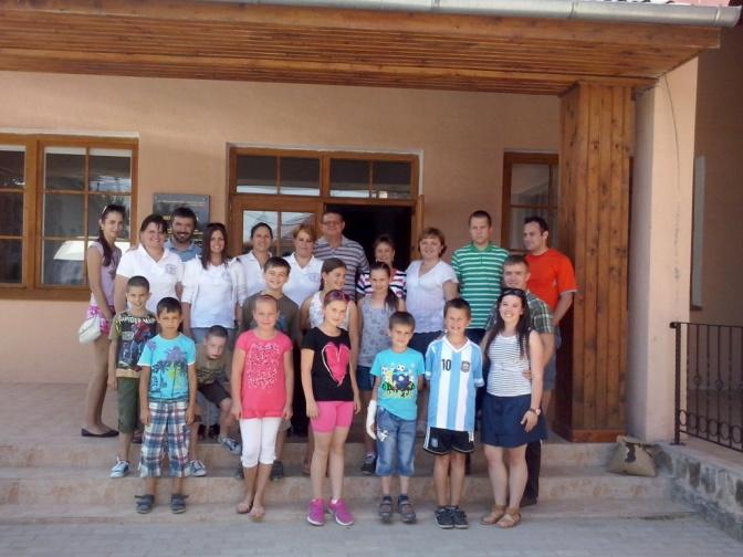 Vasárnapi Iskola az Ung-vidéken