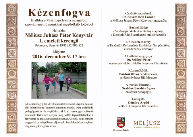 Decemberben Debrecenben kiállítás