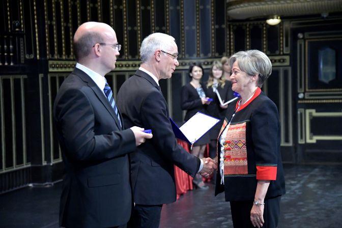 Németh László-díjat kapott Szeleczki Erzsébet