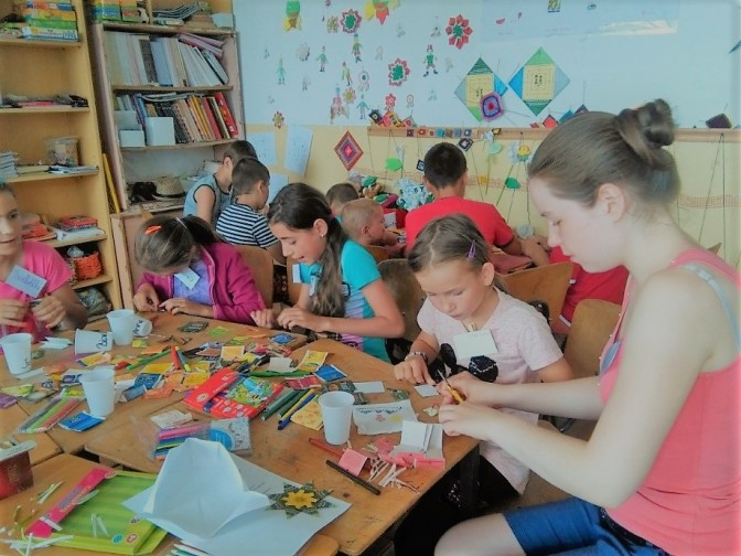 Magyar nyelvi tábor Magyarfaluban és Lábnyikban