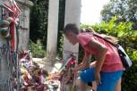 9. Koszorúzás Kölcsey sírjánál
