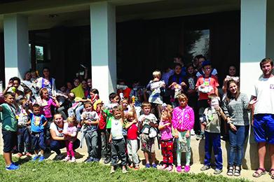 Moldvai tábort szervezett a KRE TFK